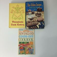 Vintage Cookbook Lot Dutch Recipes Blue Ribbon Country Fair Recipes 3 Books