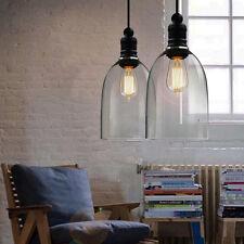 EDISON Rétro Vintage Industriel Plafonnier lampe en verre pendentif éclairage
