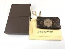 Louis Vuitton Keyring Monogram Trunks Ed Limitata Portachiavi Pochette Usato