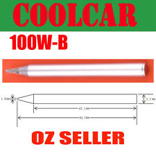 SOLDER SOLDERING IRON Tip for 100W B Lead Free for conical Leadlight Windows RC