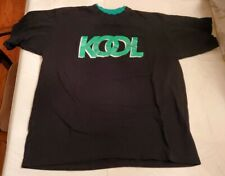Vtg 90s Kool Menthol Cigarettes Black Green Short Sleeve Graphic T Shirt Xlarge