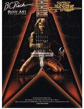 2003 B.C. RICH Junior V UMETHAR Electric Guitar KIT RAE Body Art Vtg Print Ad