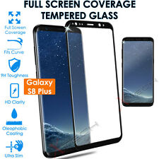 Clear Curved 3d Tempered Glass Screen Protector for Samsung Galaxy S8 Plus G955