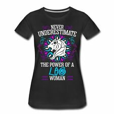 Never Underestimate A Leo Woman Zodiac Sign Women's Premium T-Shirt