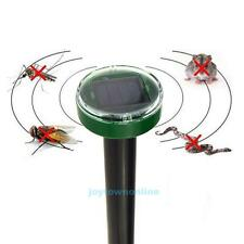 Solar Powered Electronic Home Garden Mosquito Snake Mouse Pest Repeller Rejector