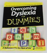 Overcoming Dyslexia for Dummies by Tracey Wood (2005, Paperback)