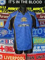 4.5/5 Umbro adults M retro vintage football shirt jersey trikot maglia