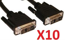 10 Cables DVI-D 1,8m Haute qualité Single Link 18+1 Dvi to Dvi Cordon Male -Male