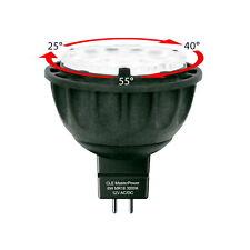 Lámparas LED 6w mr16 12v gu5, 3 ajustable reflector 25 °/40 °/60 °