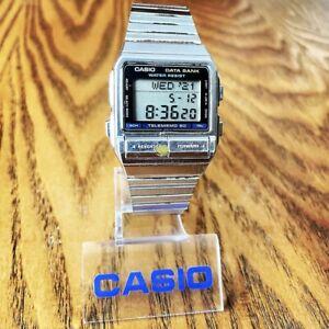 RARE Vintage 1988 Casio DB-520 Digital Data Bank Watch, Made in Japan Module 675