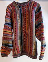 Mulca Vintage 90's Classics Australia Coogi Style Wool Sweater! Size XL