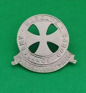 Margate Ambulance Corps Badge