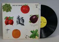 BEST OF CREAM LP Vinyl ATCO SD 33-291 Original Press CLAPTON BAKER EX/VG+ R-0297