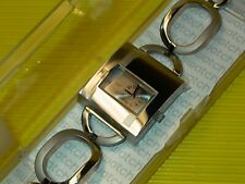 Swatch Irony Lady Square CHAIN ME ON - YUS122G in NEU & OVP