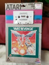 RARE ATARI 2600 - YAR'S REVENGE - FACTORY SEALED - HANGTAB  - ATARI 1982 YARS