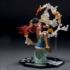 Anime One Piece Monkey D. Luffy Kampfversion Figuren Figur PVC Spielzeug 14CM DE
