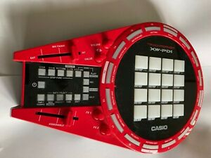 CASIO XW-PD1 Sequencer Sampler Track Former Effector Red-No Box used once!