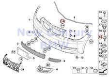 8 X BMW Genuine Torx Screw With Washer Isa M6X18 E82 E82E E84 E88 E90 E90N E91 E