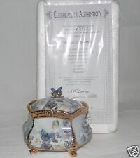 Ardleigh Reason to Remember Lena Liu Enchanted Wings Porcelain Music Box COA