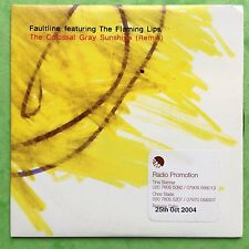 Faultline Feat. The Flaming Lips - The Colossal Gray Sunshine - Card Sleeve CD