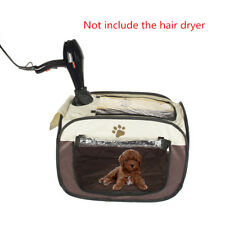 Pet Dryer Square Dog House Portable Cat Bed Carrier Tote Breathable Puppy Cage