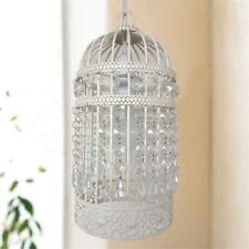 Bird Cage Ceiling Pendant Light Shade Fitting Easy Fit Chandelier Cream
