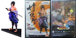 Naruto Shippuden Sasuke Shinobi Relations figure Banpresto Japan Anime MISB