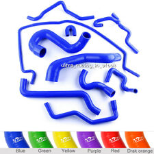 Blue FIT SAAB 9-5 2.0T 2002-2007 Turbo Radiator Silicone Coolant Hoses 10 PCS