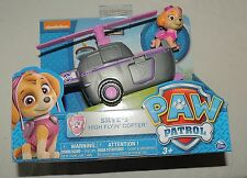 NEW Nickelodeon Paw Patrol Skye High Flyin Copter Helicopter Sky Pink Plane