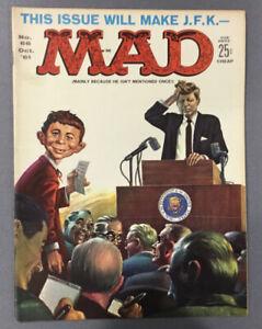 Mad Magazine Vol. 1 No. 66 October 1961