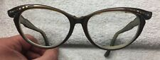 Vintage 60s Women's Cat Eye Frame Glasses made in France.