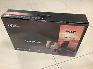 "NEW Acer 28"" KG1 Ultra HD 3840x2160 Gaming Monitor FreeSync VisionCare 1ms"