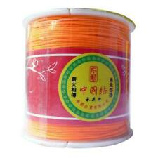 5 metres Orange    1mm Nylon Rattail macrame Thread, braiding diy bracelets