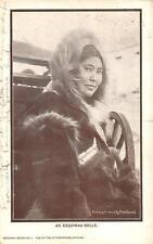AN ESQUIMAU BELLE ALASKA POSTCARD 1910
