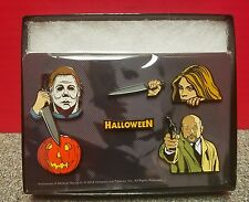 Creepy Co 2016 Halloween Collector's Enamel 6 Pin Set Michael Myers Compass Intl
