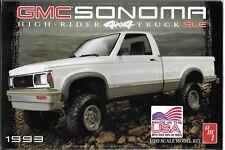 1:20 Amt 1057 - 1993 Gmc Sonoma 4×4 - Plastic Model Kit