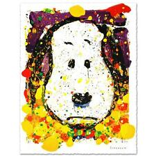 """SQUEEZE THE DAY - THURSDAY"" by TOM EVERHART LTD EDITION LITHOGRAPH SNOOPY MINT"