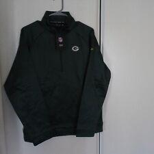Nike Therma NFL Green Bay Packers 1/2 Zip Shirt Size M AH0265-323