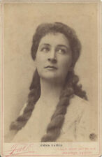 CABINET CARD PORTRAIT OF BEAUTIFUL OPERA SIGNER EMMA EAMES