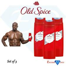 Old Spice Men's Original Shower Gel 250ml x 3 - Mens Original Body Wash