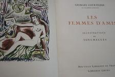 COURTELINE-Les Femmes d'Amis,ill TOUCHAGUES,Gründ,1947