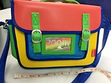 ZOOM Multi Coloured Satchel Insulated Lunch Bag School Pack Lunch