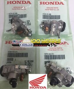 New OE HONDA 1993-2000 TRX 300 Fourtrax 4x4 Front Brake Wheel Cylinders ALL FOUR