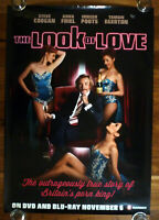 LOOK OF LOVE Original 2012 Australian DVD-Blu-Ray Adv. One Sheet Movie Poster