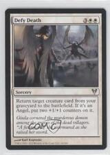 2012 Magic: The Gathering - Avacyn Restored Booster Pack Base #16 Defy Death 0a1