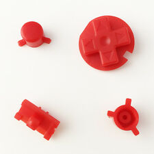 New Replacement Red Colour Buttons Nintendo Game Boy Pocket GBP Custom Mod