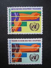 Vereinte Nationen New York MiNr. 174-175 postfrisch (P 682)