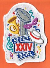 Super Bowl Xxiv 24 Nfl Denver Broncos - San Francisco 49Ers Patch