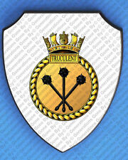 HMS TRUCULENT WALL SHIELD