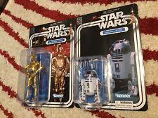 STAR WARS 40th Anniversary C-3PO & R2-D2 MOC Unopened